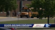 School bus mask rules cause confusion