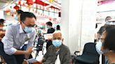 政府外展隊訪大澳 為127人接種疫苗