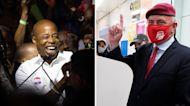Adams, Sliwa trade barbs in race to be NYC's next mayor