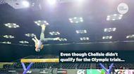 Olympian-turned-mom makes gymnastics comeback