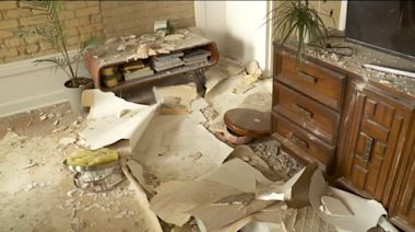 'Sounded Like an Earthquake': Ceiling Collapses Inside Apartment Building