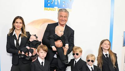 'Bossy Baldwinitos:' See Alec Baldwin, Hilaria and their 6 kids rocking 'Boss Baby' suits