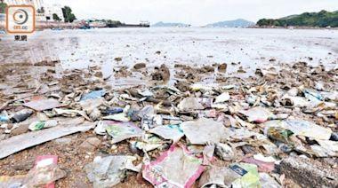 十年檢9000公斤海洋垃圾 團體指塑膠製品佔6成
