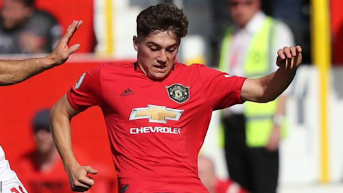 Daniel James: Man Utd Winger 'unlucky' to be booked for diving - Solskjaer