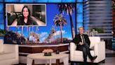 Ellen DeGeneres Explains Why She's Living in Courteney Cox's House: 'I'm Not Having Marital Troubles'