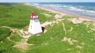 Coastal erosion threatens Atlantic Canada's famous lighthouses