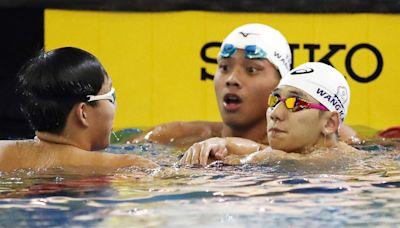 全運會游泳400公尺自由式 王冠閎奪冠(3) (圖)