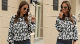 Shoppers Say This Leopard Sweater Is One of Their Best Amazon Finds