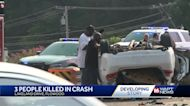 3 People Killed In A Car Wreck