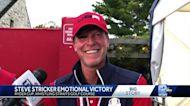 Wisconsin's Steve Stricker wins emotional Ryder Cup win