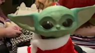 Adorable, It Is: Fan Debuts 3-D Printed 'Baby Yoda' at Orlando Convention