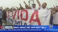 Are Demonstrators In Support Of The People Of Cuba Breaking New Florida Law
