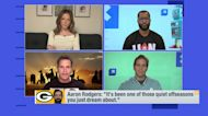 'GMFB' reacts to Aaron Rodgers' nonchalant approach to offseason drama