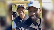 Dwyane Wade golfed with Tiger Woods day before crash
