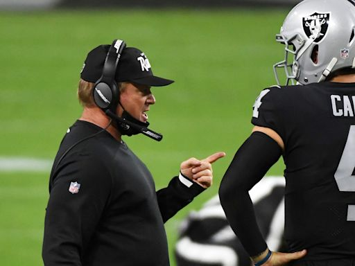 Derek Carr, Jon Gruden explain Raiders' oddly-phrased audible calls