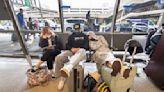 Spirit cancels half its flights; American also struggling