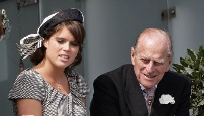 Princess Eugenie Got Emotional While Recalling the Moment Baby August Met Prince Philip
