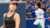 Blue Jays' Bo Bichette proposes tennis match with Genie Bouchard