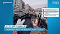 Katy Perry and Orlando Bloom Ride a Gondola in Venice: They 'Seem to Enjoy the City,' Says Source