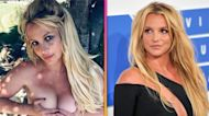 Britney Spears Goes Topless Following Candid Messages About Her Court Battle