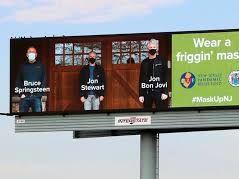 Bruce Springsteen, Jon Bon Jovi And Jon Stewart Team For Covid-19 Prevention Ad