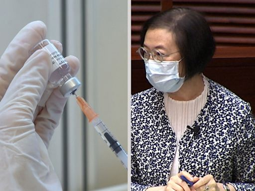 陳肇始:開始考慮採購新一代疫苗及規劃下一輪接種計劃