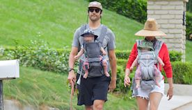 Kristen Wiig & Avi Rothman's Twins' 1st Pic: Couple Takes Newborns On Walk After Birth By Surrogate