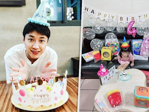 江宏傑為愛女慶祝4歲生日 日本網友又怒轟福原愛「為什麼不回去抱抱孩子」--上報