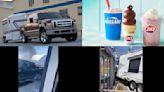 有這麼想吃冰淇淋? 皮卡車拖露營車廂撞得來速通道冒黑煙│TVBS新聞網