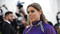 Princess Beatrice stuns in vintage wedding dress as she borrows Queen's tiara