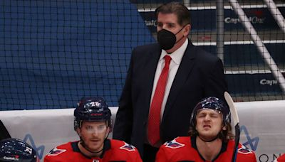 Capitals coach Peter Laviolette doubles down on Tom Wilson hit with ridiculous take