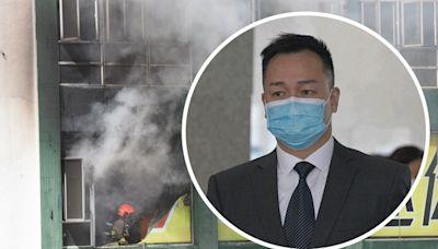 迷你倉大火 高級消防隊長強調無時無刻關注變化適時撤出煙帽隊