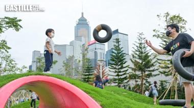 灣仔海濱長廊開放新空間 增設涼亭觀景小丘及「童樂園」 | 社會事