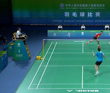 全運會羽毛球 諶龍男單四強出局 陳雨菲闖女單決賽