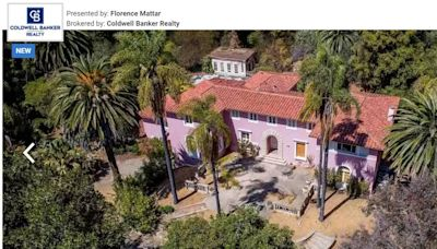 Abandoned mansion of Osama bin Laden's brother lists for $28 million in California