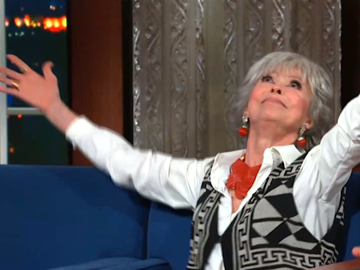 Rita Moreno on being executive producer of Steven Spielberg's 'West Side Story': 'At f***ing last'