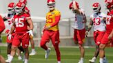 Patrick Mahomes' impression of Chiefs' rebuilt offensive line after minicamp