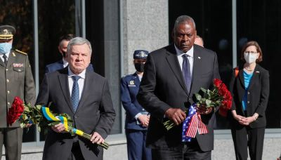 Russia is obstacle to peace in east Ukraine - U.S. Defence Secretary
