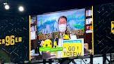 黃偉哲躍上美國哥倫布市新足球主場大螢幕 直送台南熱情加油