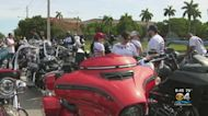 Hundreds Of Motorcycle Riders Ride From Doral To Key Largo For Good Causes
