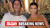 Kourtney & Travis are 'engaged' after drummer proposes at beachside hotel