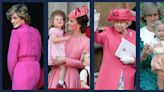Queen Elizabeth, Princess Diana, Kate Middleton, and More Royals Wearing Pink
