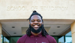 Only 2% of US teachers are Black men. This NCCU program could help change that.