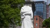 Christopher Columbus statue beheaded in Boston after Columbus statue toppled, thrown in lake in Richmond