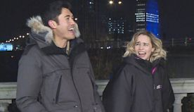 Last Christmas' Stars Henry Golding and Emilia Clarke Spill Secrets From the Set (Exclusive)