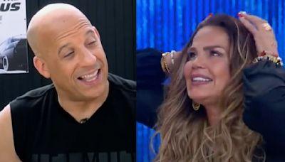 """""""Pensé que era Vin Diesel"""". Niurka estrena novio mucho menor que ella y el parecido es asombroso con el protagonista de 'Rápido y Furioso' (FOTOS)"""