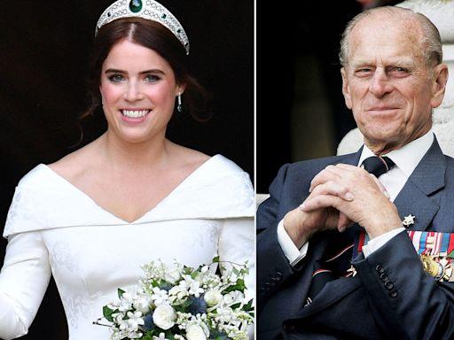Princess Eugenie Reveals Prince Philip's Sentimental Wedding Gift: 'I'm So Proud of It'
