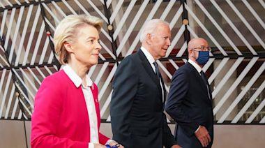 歐美領袖峰會提台海和平穩定重要性 外交部:民主國家的高度共識 | 蘋果新聞網 | 蘋果日報