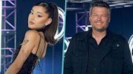 Ariana Grande Shares Hilarious Text Exchange With 'The Voice' Coach Blake Shelton