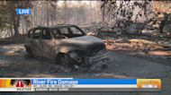 River Fire Leaves Trail Of Destruction